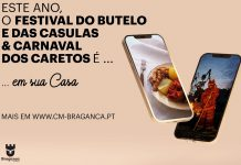 Festival do Butelo e das Casulas e Carnaval dos Caretos de 2021 na casa dos portugueses