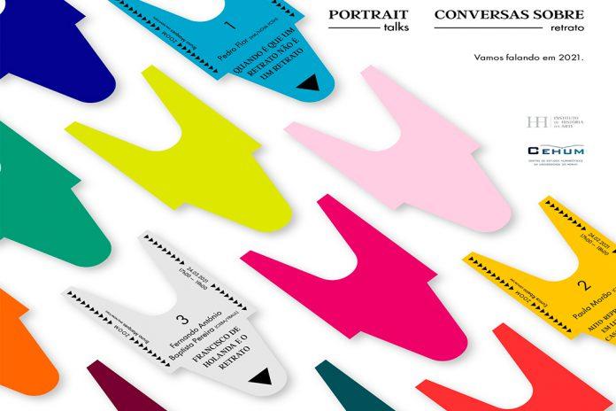O retrato: conversas online com universidades do Minho e Nova de Lisboa