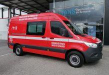 Câmara de Macedo de Cavaleiros entrega nova ambulância aos Bombeiros