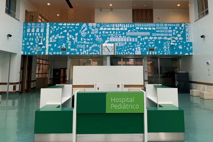 Artistas dão cor ao Hospital Pediátrico do Centro Hospitalar e Universitário de Coimbra