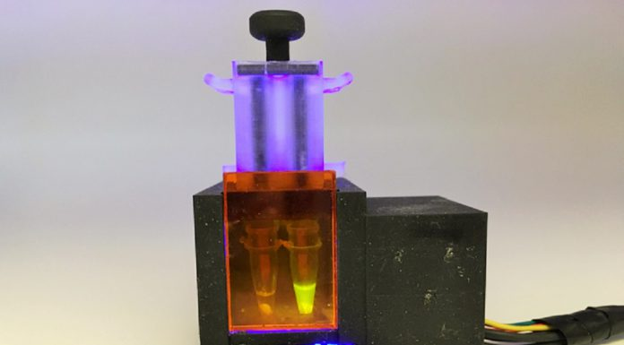 Dispositivo testa COVID-19 de amostras de saliva com precisão PCR
