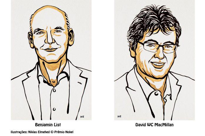 Prémio Nobel de Química 2021 para ferramenta de construção de moléculas