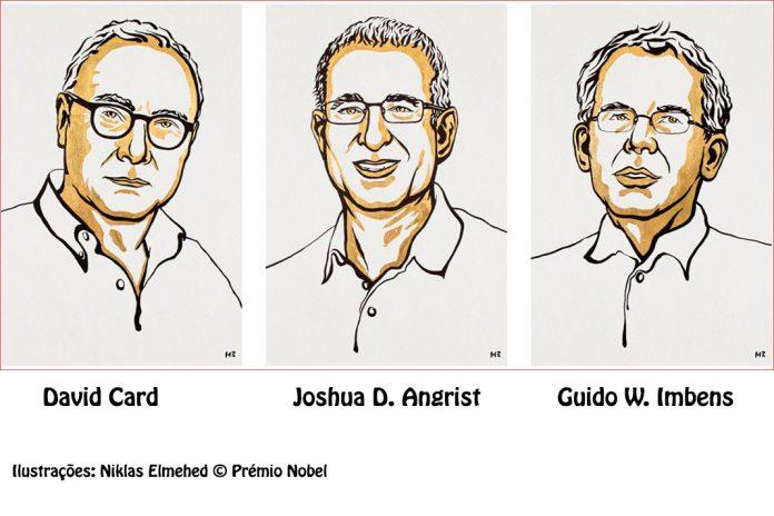 Prémio Nobel da Economia 2021 atribuído a David Card, Joshua Angrist e Guido Imbens
