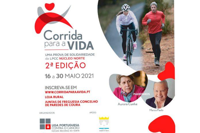 Correr em Paredes de Coura para ajudar na luta contra o cancro