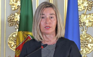 Federica Mogherini, Alta Representante para os Negócios Estrangeiros e Política de Segurança da União Europeia, e Vice-Presidente da Comissão Europeia