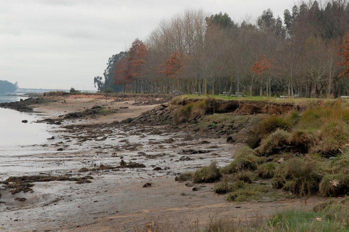 Efeito das cheias na bacia do rio Lima/Vez